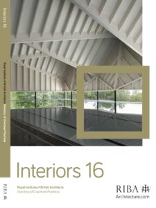RIBA Interiors 2016 front cover